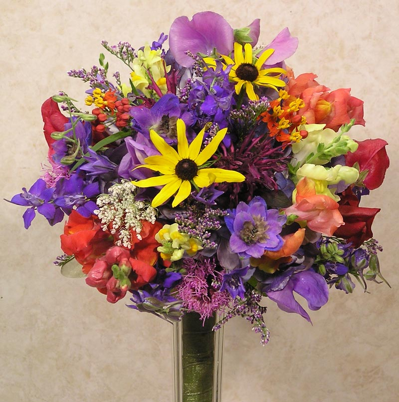 Wild Flower Wedding Bouquet: Wildflowers Are Our Specialty